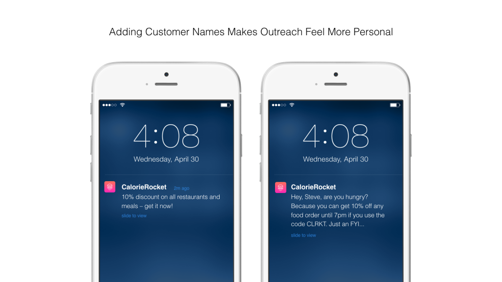 Name-based personalization can be a way to build intimacy and trust with your customers
