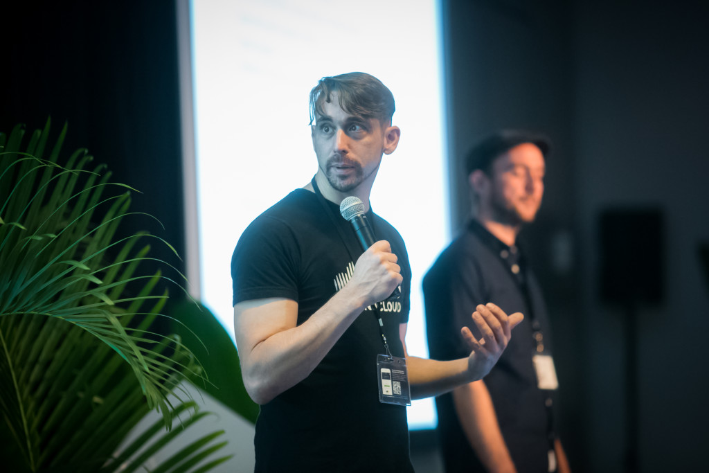 Andy Carvell of SoundCloud at the LTR Conference