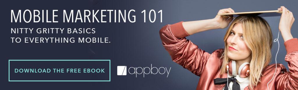 Mobile Marketing 101 Ebook Ad