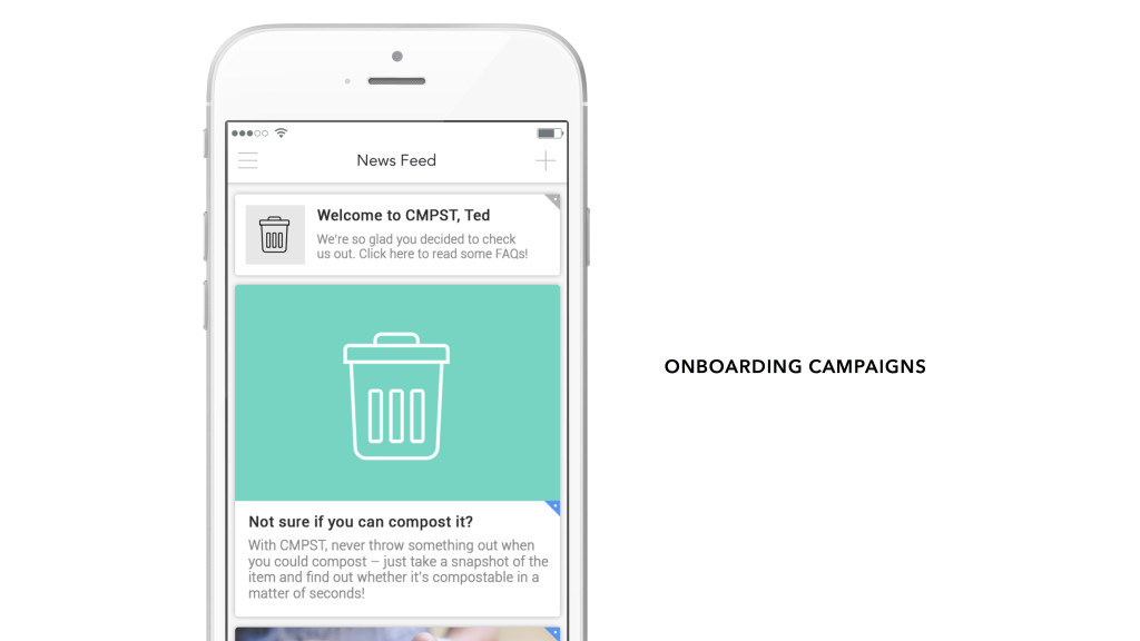 A News Feed Onboarding Campaign