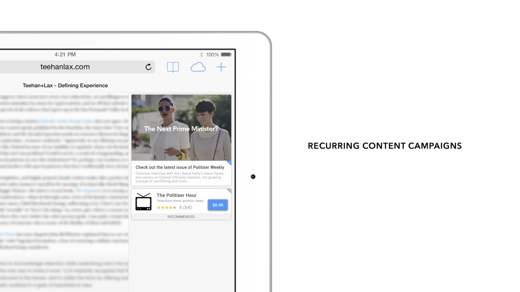 News Feed Recurring Content Campaign