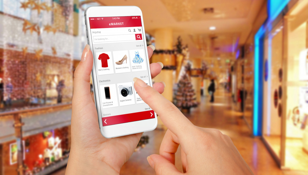 Mobile in-person shopping