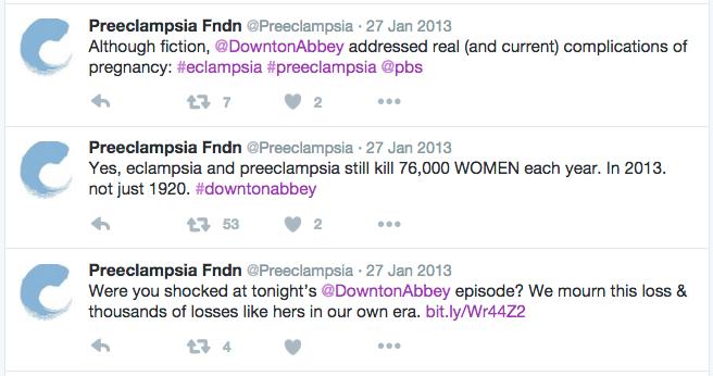Preeclampsia Tweets