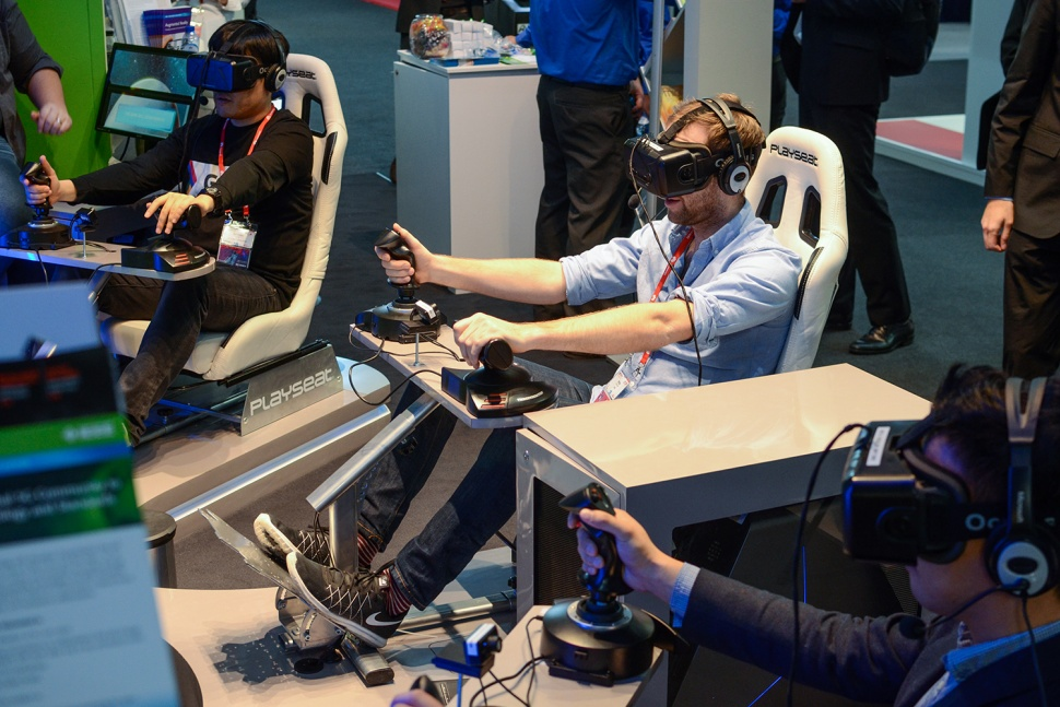 Virtual Reality at MWC