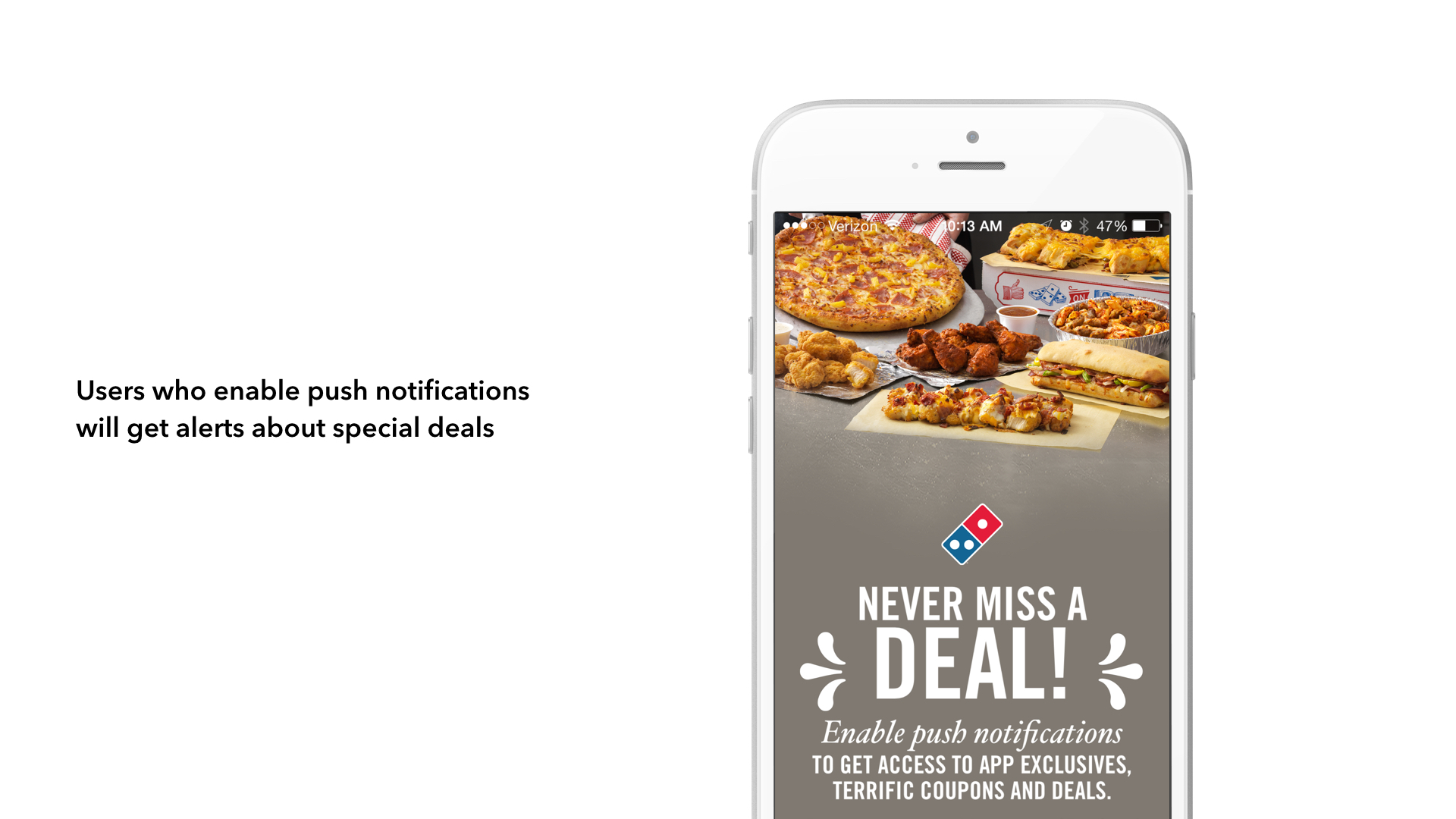 Domino's mobile deal