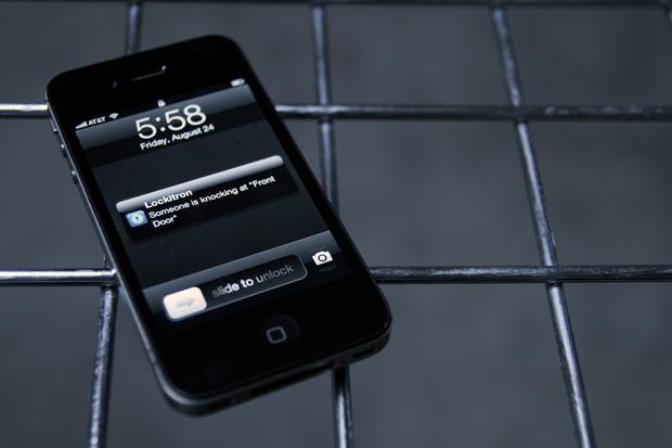 Lockitron's app