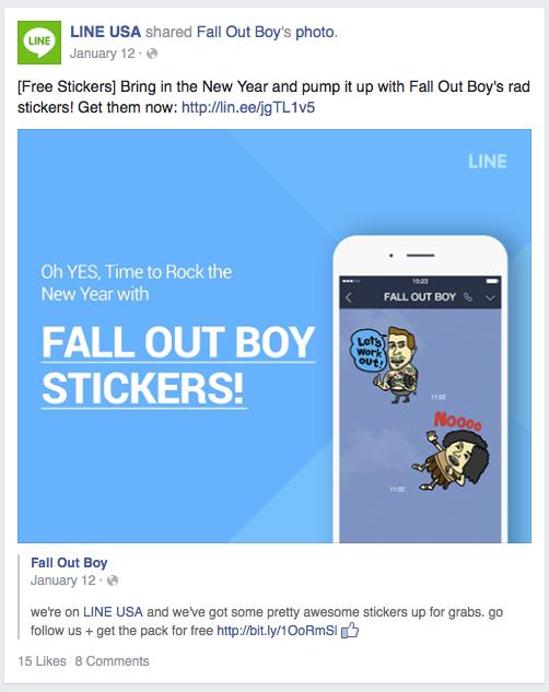 Fallout Boy emojis