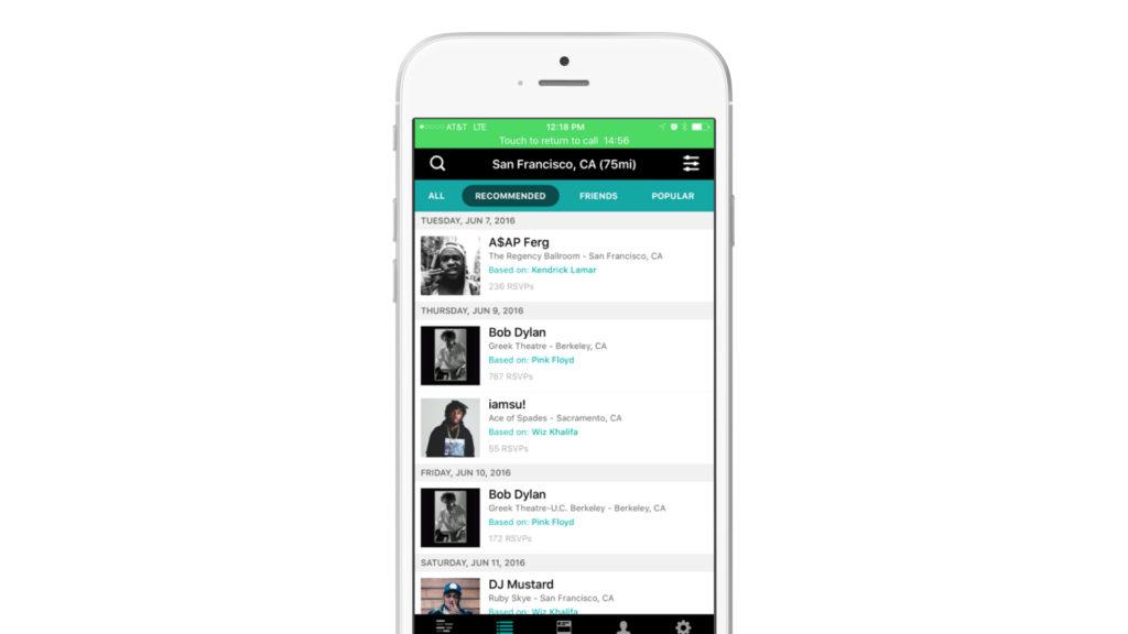 Bandsintown App