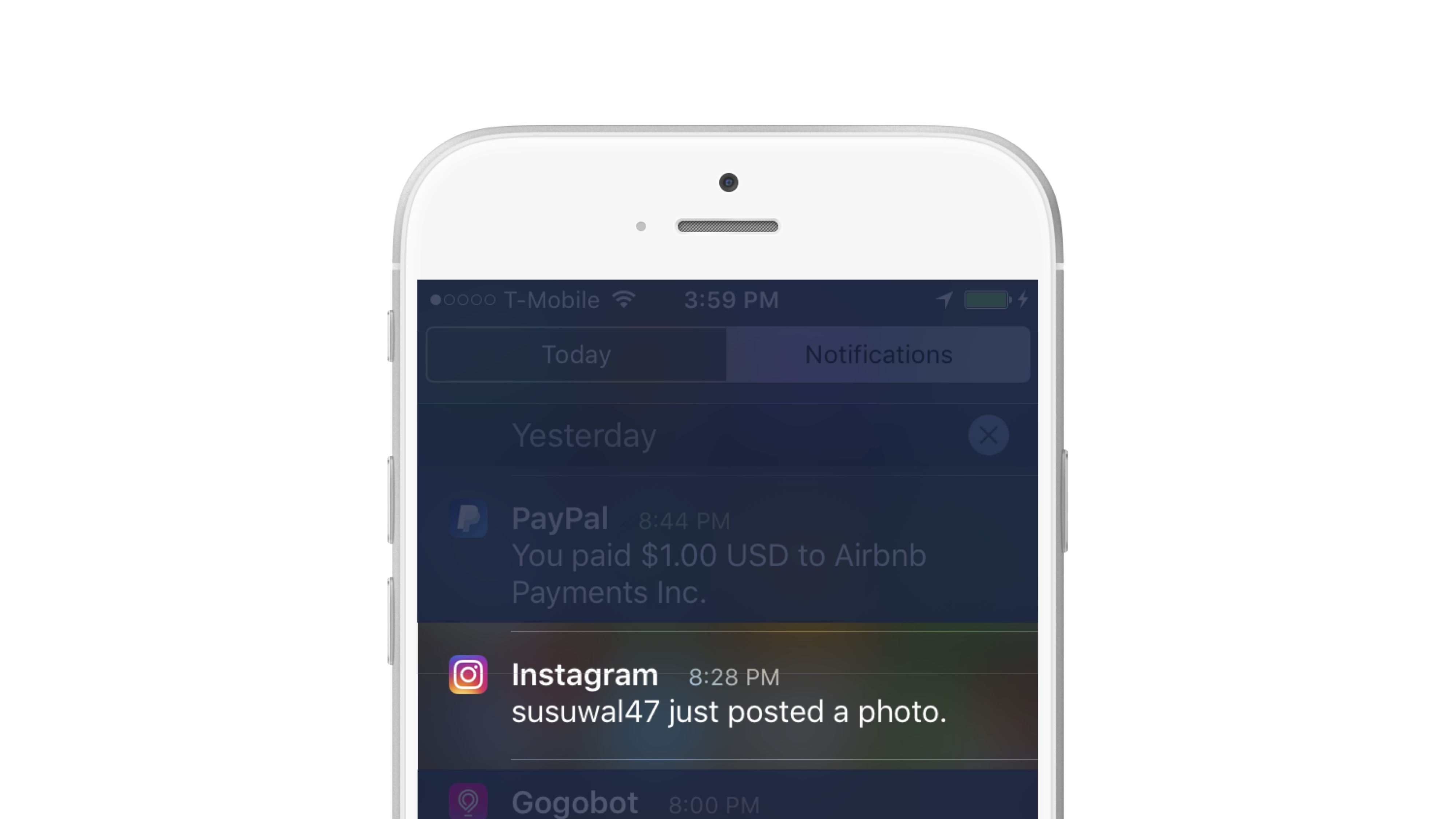 Activity Messaging content posting campaign
