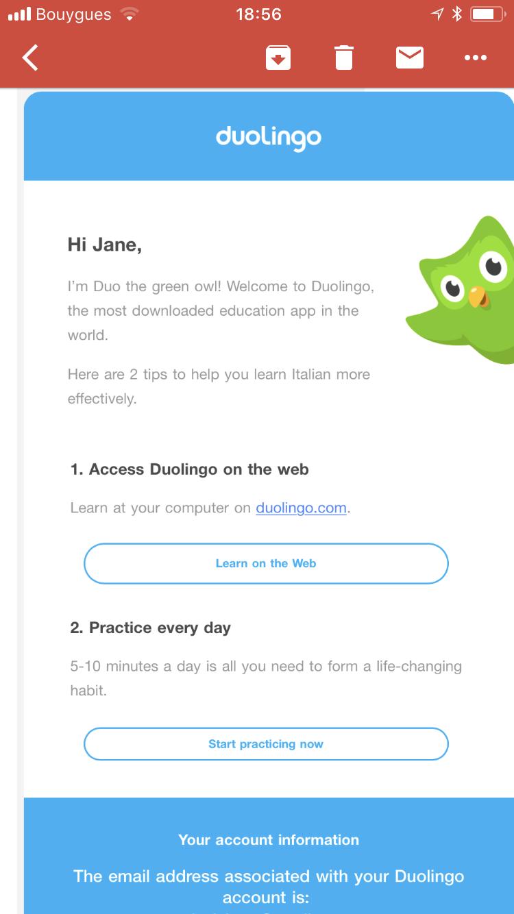 duolingo introduces mastro